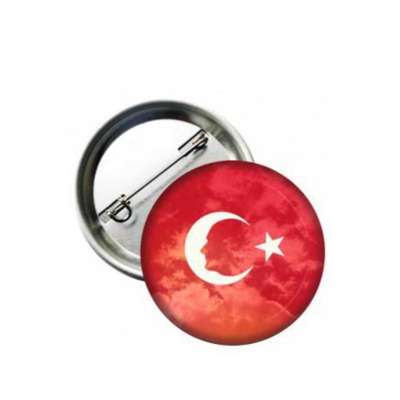 Atatürk Buton  Rozet