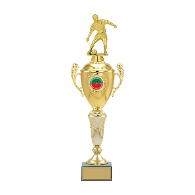 Figürlü  Metal Kupa