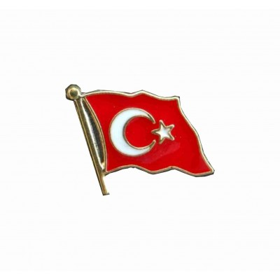 Mineli Türk Bayrağı Rozeti